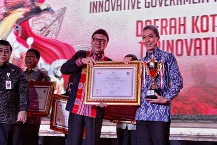 Kota Bogor Peringkat 2 Innovative Government Award